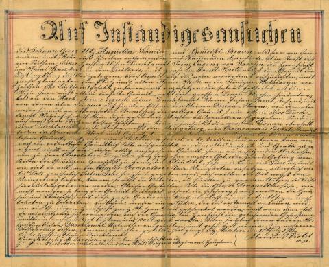 Az úrbéri szerződés másolata